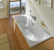 Акриловая ванна — интерьер ванной комнаты с изюминкой
