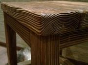 Браширование,  текстурирование (старение) древесины - foto 0