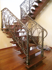 Металлические лестницы,  ковка - foto 0