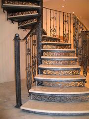 Металлические лестницы,  ковка - foto 1