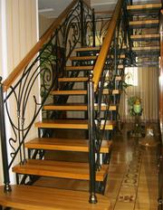 Металлические лестницы,  ковка - foto 2